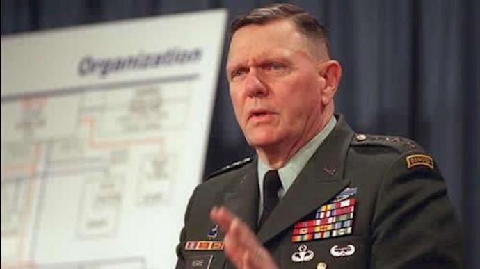 ژنرال جک کین معاون سابق فرمانده نیروی زمینی ارتش آمریکا