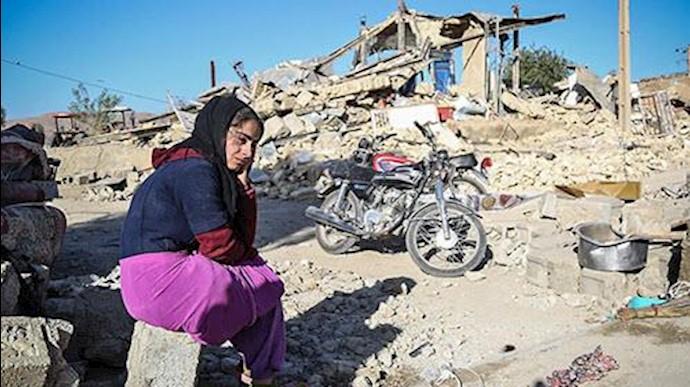 مردم زلزلهزده کرمانشاه