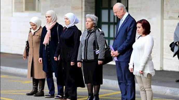 دادخواهی زنان سوری از سازمان ملل