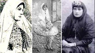 ملک خانم دولتشاهی، بیبی خانم دولتشاهی و قرة العین