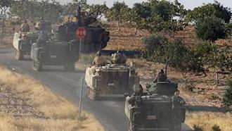ارسال تجهیزات نظامی ترکیه به مرزهای سوریه
