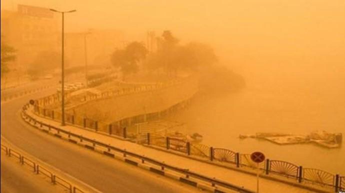 آلودگی شدید هوا در بوشهر