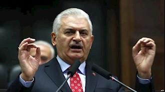 بنعلی یلدرم نخست وزیر ترکیه
