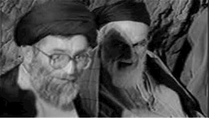 دجالان خامنهای و خمینی