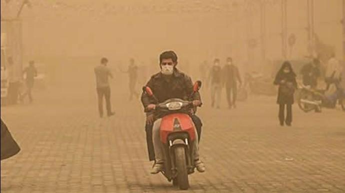 بحران آلودگی هوا در اهواز