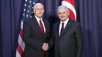 گفتگوهای نخستوزیر ترکیه و معاون رئیسجمهور آمریکا
