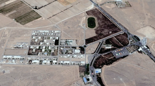 The Hafte Tir military Complex near Isfahan. The NCRI claims the remote site is used to develop nukes