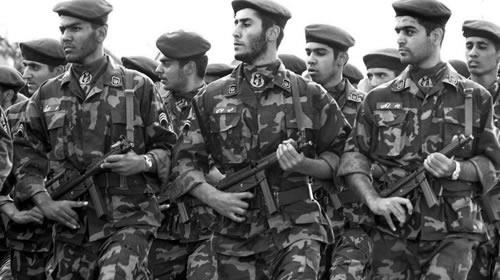 Irans Revolutionary Guard Corps marched in a parade in September 2002.