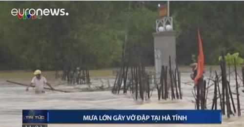 سیل جان دهها قربانی در ویتنام گرفت
