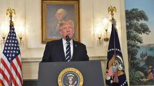 President Trumps remarks about the new US strategy on Iran regime