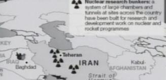افشای برنامه هستهیی ایران – ۲۲اردیبهشت ۱۳۹۱- افشای ۷بخش و ۶۰تن از کارشناسان اتمی