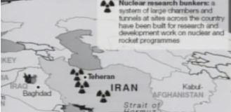 افشای برنامه هستهیی ایران - ۲۲اسفند ۱۳۸۴- افشای طرح مخفی رژیم ایران در شمال تهران