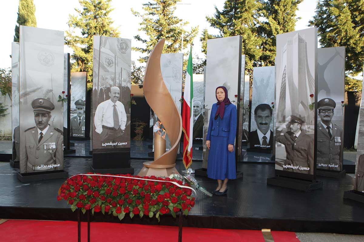 سخنرانی مریم رجوی در اولین سالگرد حمله موشکی ۷ آبان ۹۴ به لیبرتی