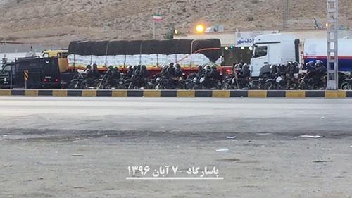 بسیج نیروهای سرکوبگر رژیم برای ممانعت از تجمع مردم در پاسارگاد