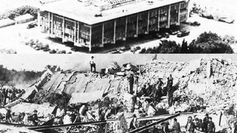 The 1983 double bombing in Beirut, the capital of Lebanon, left 241 American service members, 58 French military personnel and six civilians killed