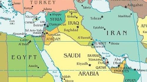 Trumps iran strategy will secure middle east middle east map gumiabroncs Image collections
