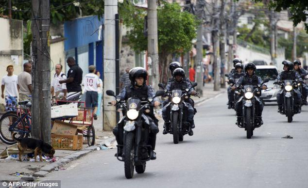The units stormed the favelas in an ongoing bid to regain control of the poor hillside towns from drug gangs and violent crime
