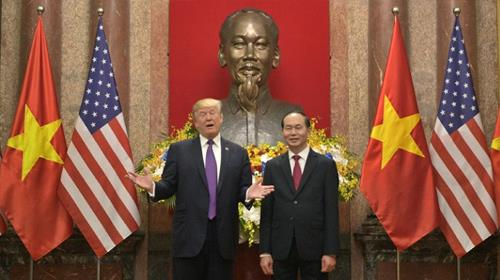 Vietnam has long courted support from Washington in its dispute with China in the South China Sea, where Beijing has built up military installations and artificial islands