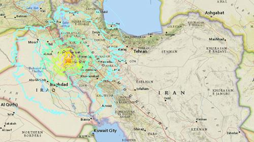 Social media reports suggest the earthquake was felt across the Middle East