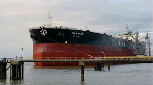 Iranian regime oil tankers sitting idle due to drop on Irans oil export