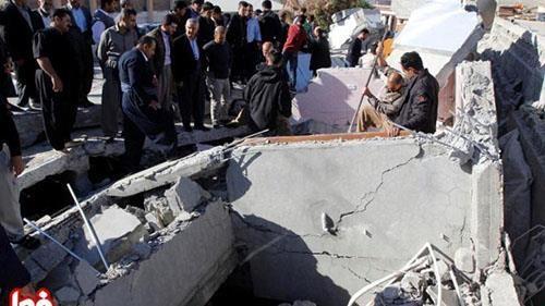 المواطنون المنكوبون بالزلزال في محافظة  كرمانشاه