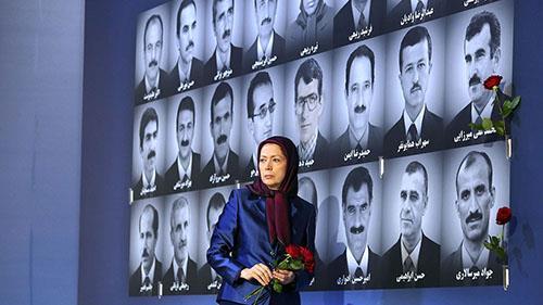 گرامیداشت ۲۴قهرمان شهید مجاهد خلق در دومین سالگرد حمله سنگین موشکی به لیبرتی