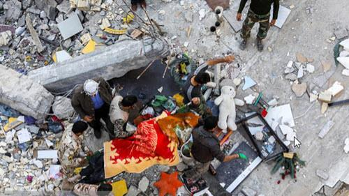 The earthquake tragedy in Iran