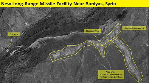 Iran is building a missile factory in Syria