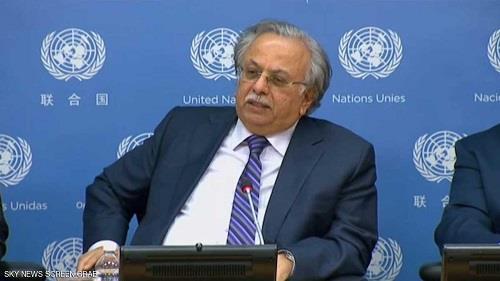 مندوب المملكة العربية السعودية لدى الأمم المتحدة عبدالله المعلمي