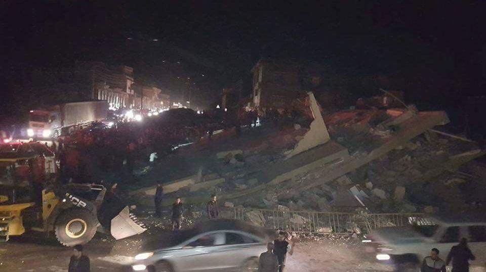 More scenes of vast destruction following Iran's recent quake.