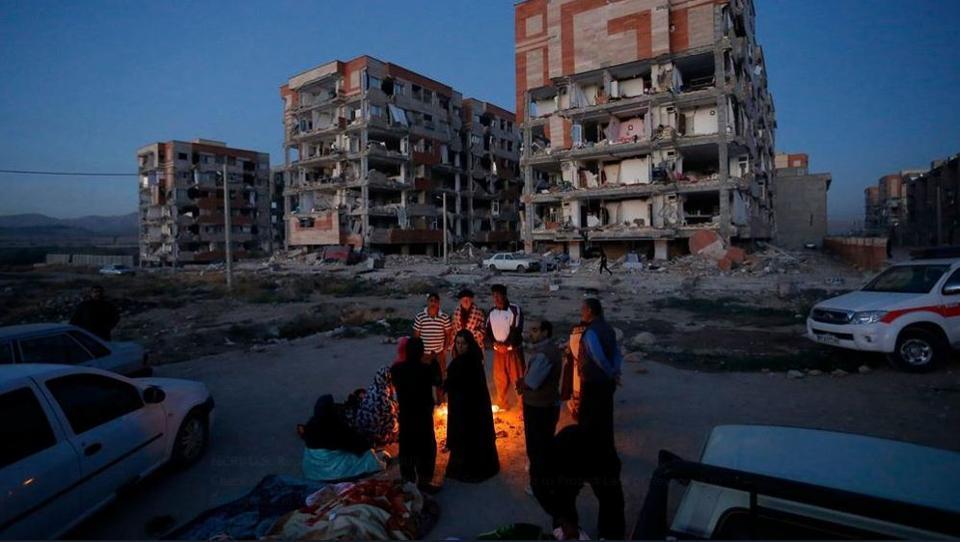 A 7.3-magnitude earthquake shook Sarpol-e Zahab in Iran's Kermanshah province
