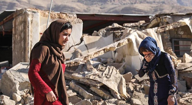 The Iranian regime has also refused international assistance meaning that the relief effort will be carried out by the Iranian Red Crescent and other NGOs