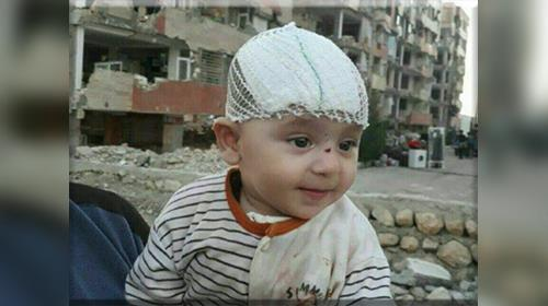 This infant is found alive and relatively well after 3 day in Iran killer earthquake