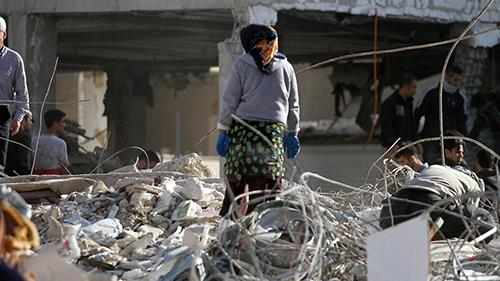 ابعاد عظیم خسارات زلزله در استان کرمانشاه،