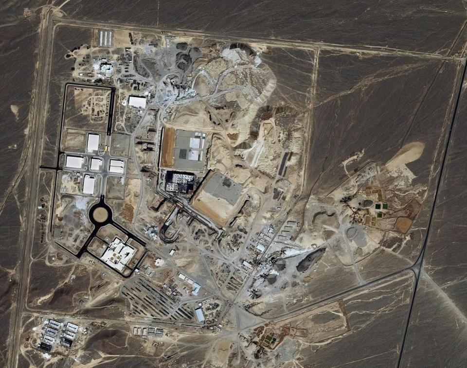 Natanz Uranium Enrichment Complex, Iran.