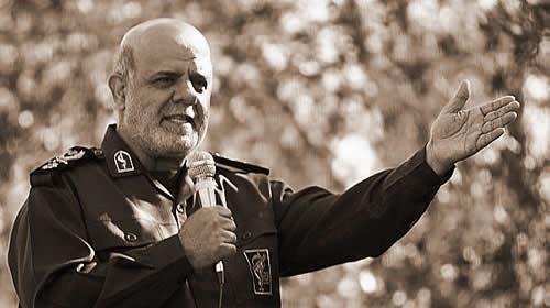 Iraj Masjedi, deputy commander of terrorist Quds force