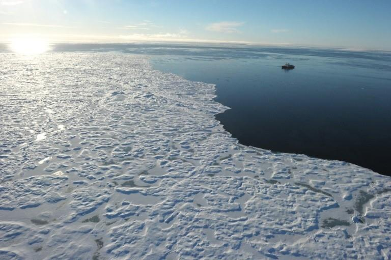 Climate change has forced a retreat of the polar ice cap
