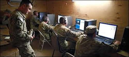 US military cyber soldiers
