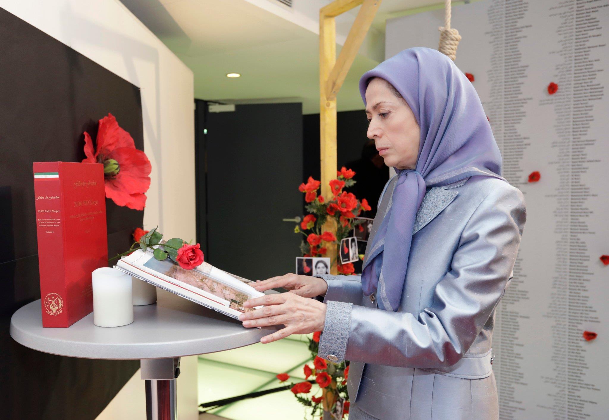 سخنرانی مریم رجوی در کنفرانس «رژیم آخوندی در محاصره بحرانها»