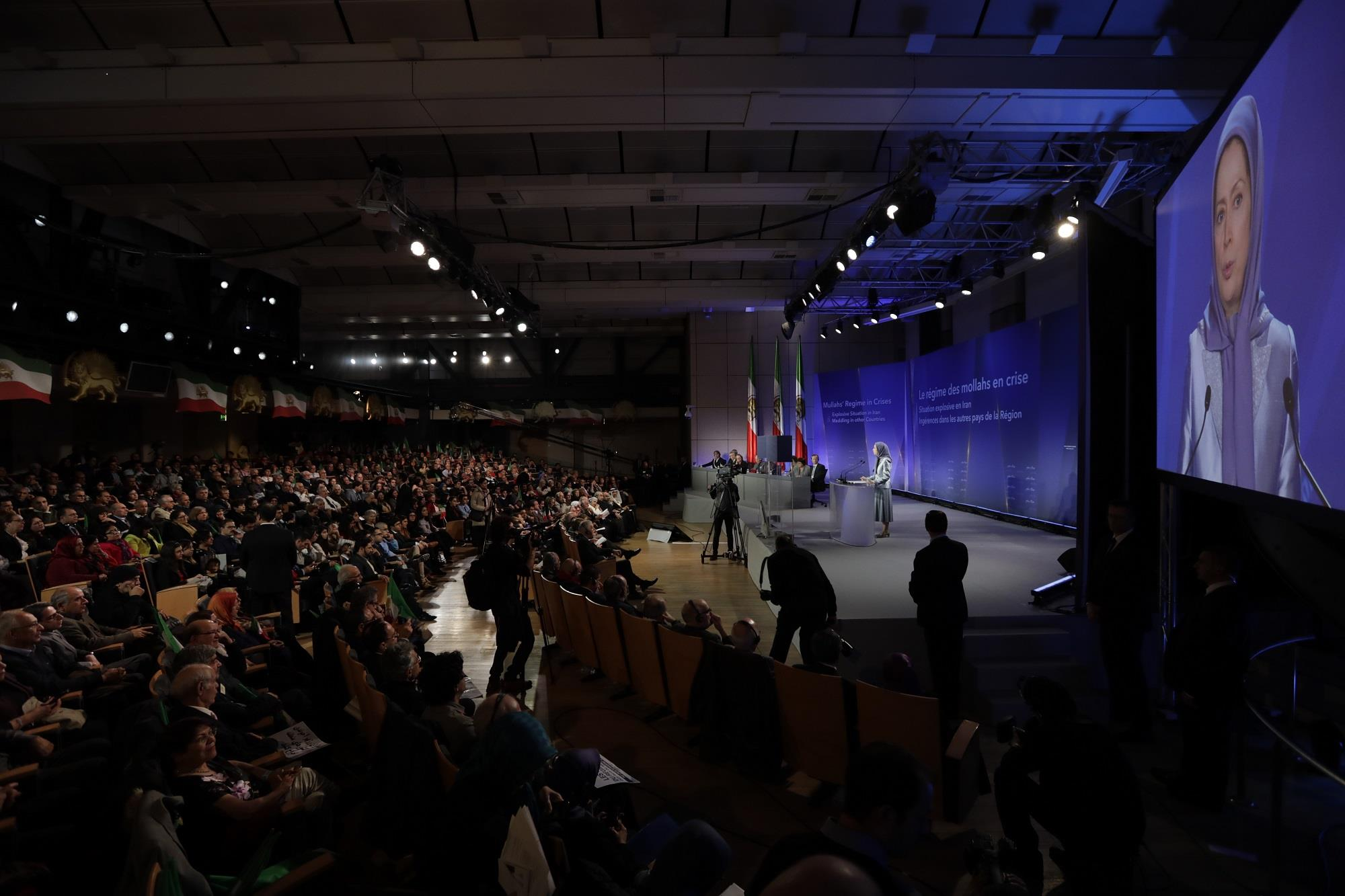 Rajavi said the international community is recognizing the need to stand up to the Iranian regime's malign activities