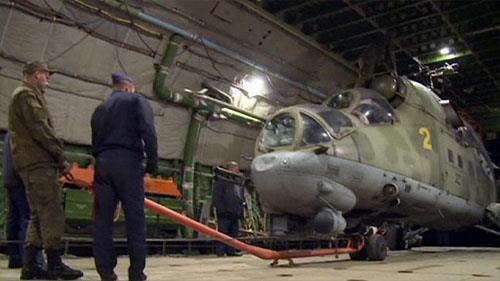خروج نیرهای نظامی روسیه از سوریه