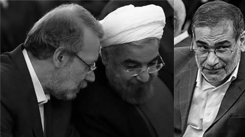 شمخانی - روحانی - لاریجانی