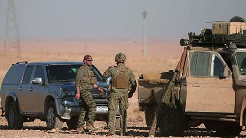 نیروهای آمریکایی در سوریه - آرشیو