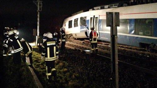 تصادم دو قطار در آلمان