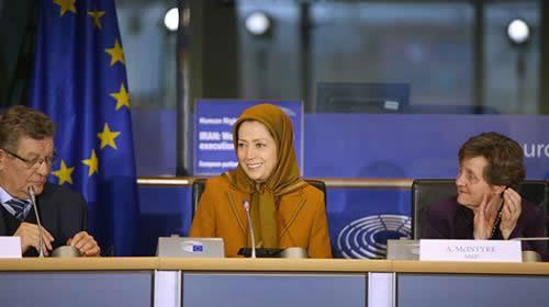Mrs. Maryam Rajavis speech in parliament at a meeting of Europe, at the invitation of the Committee of Friends of Free Iran December 6, 2017