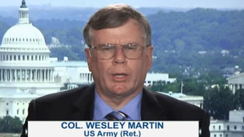 Col Wesley Martin, US Army