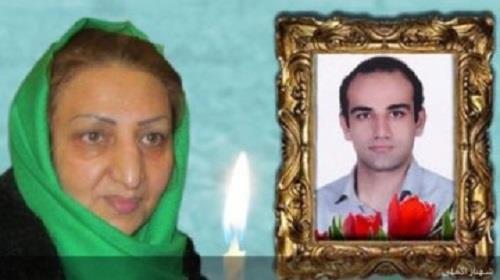Shahnaz Akmali, the mother of slain protester, Moustafa Karimbeigi