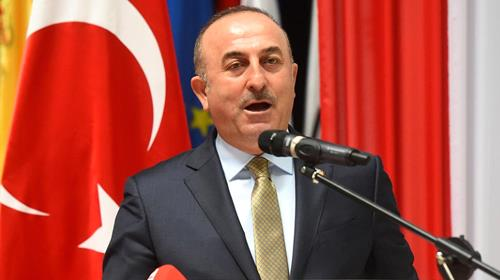Foreign Minister Mevlut Cavusoglu lashed out at Iran in a speech to the Munich Security Conference at the weekend