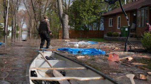 File ، Eastern Canada is drying out after the worst flooding in a half-century