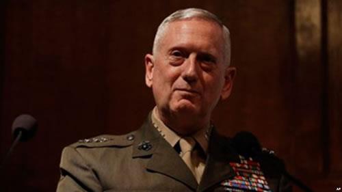 جمیز متیس وزیر دفاع آمریکا